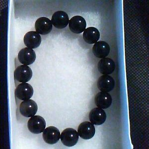 Jewelry - Black Obsidian Bracelet